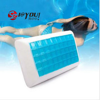 free shipping 100% memory foam cooling gel pillow  pillow for traveling neck pillow pillow case seen on tv 2013