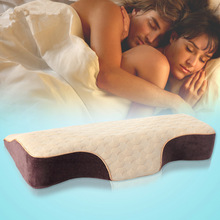 Soft&Comfortable/Sleep Good Friend/Wedge Pillow/Aiding Sleep Pillow/Anti Stiff Neck Pillow Core/Size 62*34*10/3.5CM/Coffee/Hot!(China (Mainland))