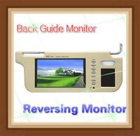 NEW car sun visor Monitor for DVD or Back Guide  camera FREE SHIPPING