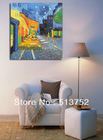 Free Shipping Art Canvas Wall Van Gogh Reproductions Oil Paintings Painted By Hand