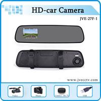 Full HD 1080P Car Rear View Mirror DVR Super Slim Rear View Mirror DVR G-Sensor Car Rear View Camera DVR Recorder Free Shipping