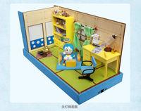 Mini DIY Cabin Model Free Shipping Kawaii Duo la A Dream Doll House