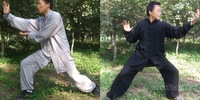 pure cotton Tai Chi Shaolin wing chun kung fu suits martial arts uniforms exercise clothes 4colors free shipping