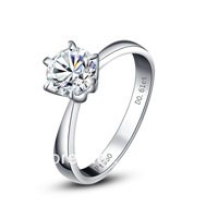 Classy Solitare 1.2 Carat NSCD Stone Engagement Ring, Wedding Engagement, Free Shipping