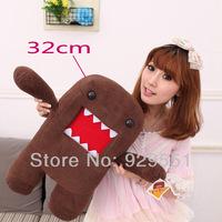 Funny soft plush stuffed animal doll,unique toy cute Domo Kun anime for girl kids,children; birthday gift,present,brinquedo 32cm
