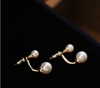 earrings earings fashion 2013 free shipping for women jewelry sets new 2013 South Korean drama After pearl hanging
