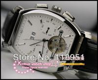 2014 Original Precision 5-pin 3 calendar automatic mechanical strip nail numerals male Swiss luxury watch big dial Sapphire