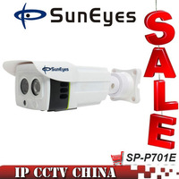SunEyes SP-P701E 1.0MP IP Camera Outdoor 720P Support ONVIF IP66 Waterproof  HD Network Camera IR Night Vision
