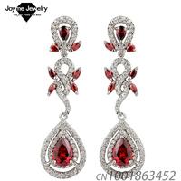 2014 New design Swiss Zircon Dangle Earrings exaggerated Austrian Crystal drop earring Women Jewelry earrings Luxury accessory