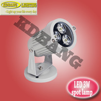 Freeshipping waterproof ip65 high power led 3W outdoor lights AC85-265V  epistar chip white/red/green/blue/rgb colour