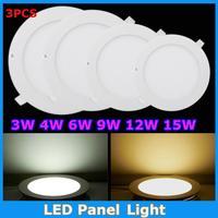 Cree LED Panel Ceiling Lamp Modern For Home 3W 4W 6W 9W 12W 15W 18W AC85-265V 220V LED Panel Ceiling Lights Indoor Lighting