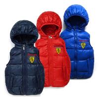 children's clothing 1pcs retail, fashion boy vests children outerwear baby jacket vest kid's waistcoat,child wear free shipping