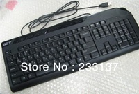 Hot sale 2013 New Wired Russian Keyboard  Multimedia  Keyboard  113 key with 9 Multimedia key For Computer PC  free shipping
