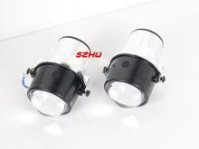 Car Front Bumper Lights Bifocal Lens Assembly case for PEUGEOT 207 301 307 4008 Citroen BERLINGO