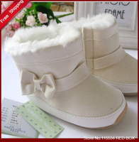 Free shipping Good quality 2013 Winter warm boots for baby ,baby girl shoes BY0010