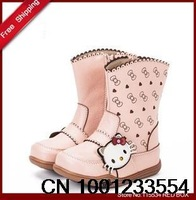 fashion  boots  girls shoes  child boots Equestrian  princess boots BY0058