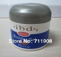 Free shipping one piece Acrylic Nail Art UV Gel nail saloon profesional nail art IBD Builder Gel 2oz / 56g clear color 01