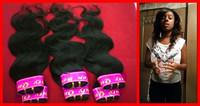 "peruvian hair body wave remy human hair extensions 12""14""16""18""20""22""24""26"" 6pcs/lot mix bundles of hair free shipping"