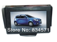 4.3 Inch LCD TFT Rearview Rear view Color Monitor screen for Car Backup Camera Free shipping