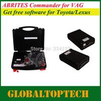 DHL free! 2014 New AVDI&FVDI VAG Commander k+can ABRITES Commander VAG-VW/Seat/Skoda V21.0+Toyota+Tag+Hyundai/KIA software