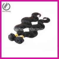 2014 New AAAAA grade cuticle intact mongolian loose body Big Curly virgin hair Styles mixed length 2pcs/lot Free Shipping
