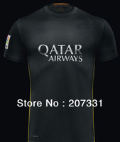 Barca black 13 14 Players version Thailand quality Soccer jersey Uniforms Custom shirts Second Away Messi 10 Neymar JR 11