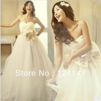 AQ Fashion Bride plus size wedding dress sweet princess 2013 winter wedding dress royal bride
