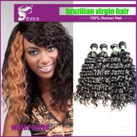 3pcs lot Loose wave Brazilian Virgin Hair Weft Human hair extension Free Shipping Unprocessed Hair Brazilian Loose Wave