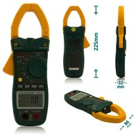 MASTECH MS2138 Digital AC DC Clamp Meter Multimeter Electrical Current Voltage Tester with High Performance
