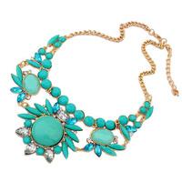 Free Shipping New 2013 Ethnic Joker Sweet Acrylic Charm Necklaces & Pendants Fashion Jewelry Items Statement Jewelery Women NN83