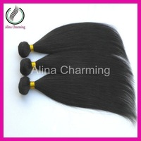 Queen hair products Malaysian virgin straight human hair weave ,3pcs/lot 5A grade unprocessed hair natural color Free shipping