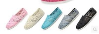 Mix color Unisex Men Women Grey Classic Canvas Shoes, Plain Casual Sneakers 21colors + Free Shipping