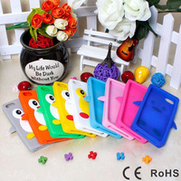 Lovely Penguin Case Cover for Apple iPhone 5/5S New Soft Rubber Silicone