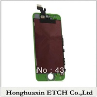 Excellent Quality For iPhone 5 5G LCD Screen with Touch Screen Digitizer frame Full Set Assembly free shipping