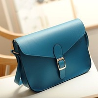 2013 new bag candy color style retro British Institute of European and American women bag