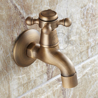 [B&R]Antique washing machine tap surface treatment bronze colour small and durable GZ-8402