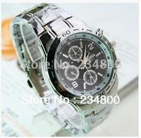 Free Shipping Steel Quartz Watch Men Watch Gift Watch Factory