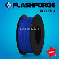 Flashforge 3D Printer ABS filament  Blue ,1kg per roll, diameter 1.75mm.