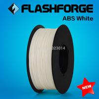 Flashforge 3D Printer ABS white filament, diameter 1.75mm