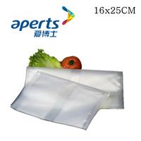 Aperts Food Saver Vacuum Bags 16X25CM,50pcs/bag,2bags/lot, High Quality,REACH/ FDA certification bags.Free Shipping