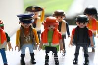 Playmobil Free shippingpaddle pop golems mobi building blocks kids toys for children Diy games