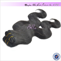 Grade 5A Free Shipping Virgin Brazilian Hair Weaves Body Wave Natural Color 60g/bundle 12-24inch 5 Bundles/Lot Wholesale Price