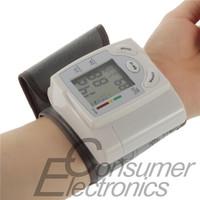 1PCS Newest 2014 Wrist Blood Pressure Monitor Arm Meter Pulse YKS Technology Sphygmomanometer