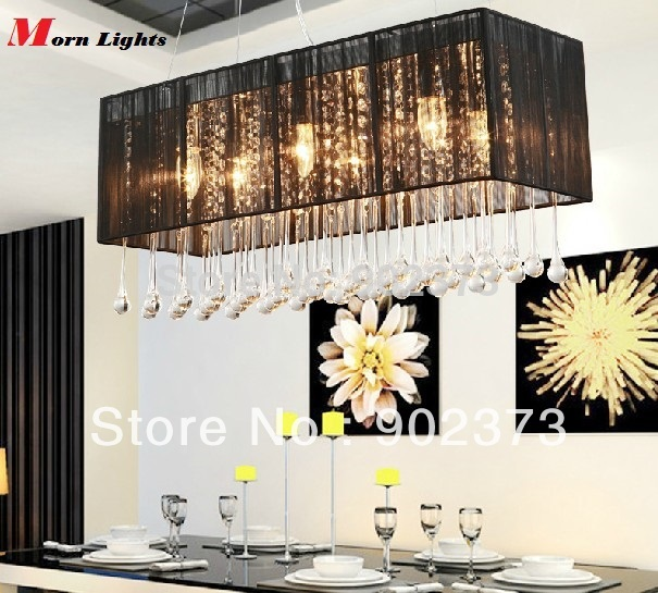 Modern Pendant lamps hanging Lighting rectangular Pending lights dining Room restaurant lights lighting(China (Mainland))