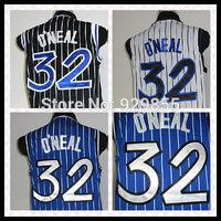 Free Shipping Orlando Shark O'neal #32 Basketball Jersey, Top Quality Embroidery Logos Basketball Jersey