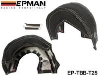 EPMAN Exhaust Turbo Blanket Wrap Heat Shield Beanie For Turbocharge T25 T28 gt28 gt30 gt35 t37 t3 EP-TBB-T25