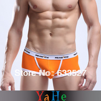 Shorts Underwear Men Gay  Quick Dry Boxers Boy's Shorts FitnessBrand Shorts Men Sport Causal Trunks Hipster 5pcs/lot N MU1003B