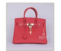 FREE SHIPPING Real TOP Cowskin Designer fashion WOMEN'S TOGO 35 HandbagsTote Bag all sides leathers Lady Bag stars love