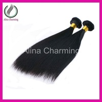 Wholesale Alibaba express brazilian hair 1bundle silky straight Ombre weave  human hair extensions free shipping