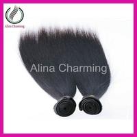 Rosa 5a Unprocessed malaysian virgin hair straight mac makeup 3pcs 300g human hair weft free shipping